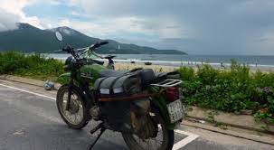 motorbike beach