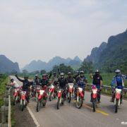 Motorbike Ho Chi Minh trail