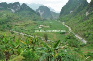 Northeast Vietnam motorbike
