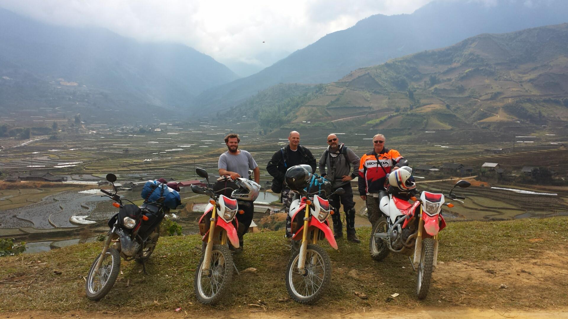 motorbike tour north vietnam 4 days vietnam motorbike tour expert. Black Bedroom Furniture Sets. Home Design Ideas