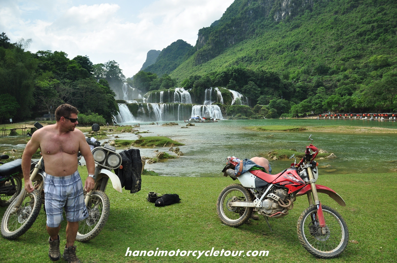 Ban Gioc Waterfall Motorcycle Tour In North Vietnam