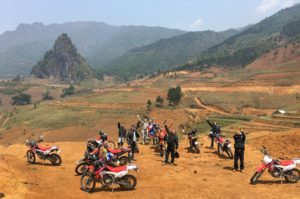 North Vietnam motorbike tour